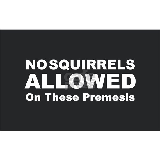 No Squirrels Allowed