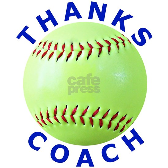Softball Coach Thank You Unique Gifts