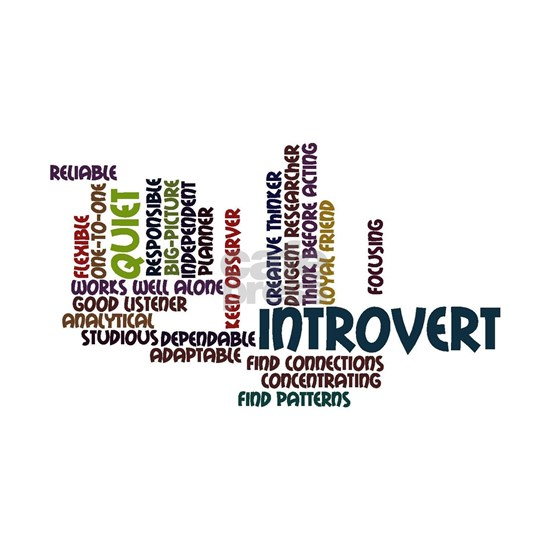 Introvert Strengths Word Cloud 2