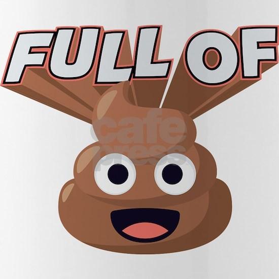 Full of Poop Emoji One