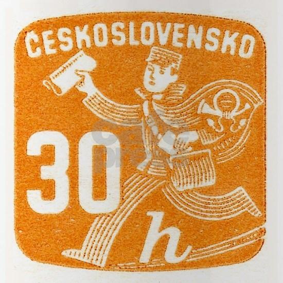 1945 Czechoslovakia Newspaper Newsboy Stamp