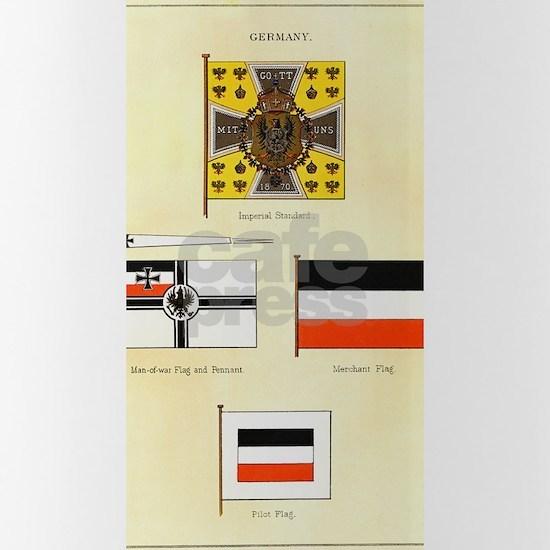 German Maritime Flags circa 1876-5