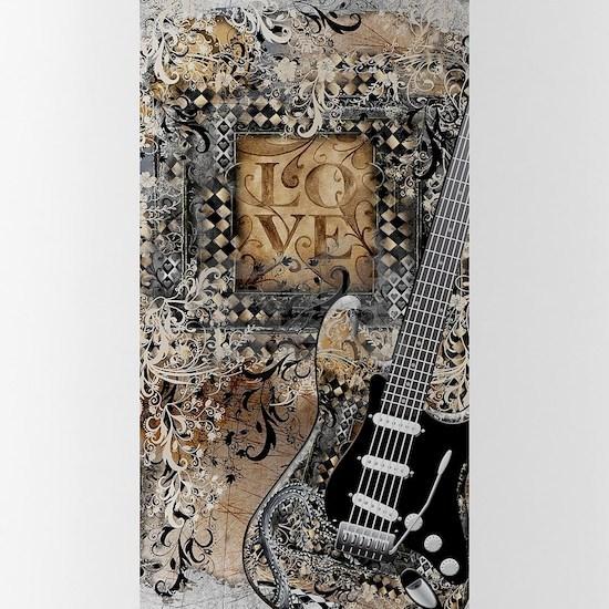 Guitar Love Guitarist Music Design