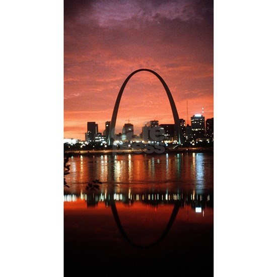 The St. Louis Arch at Dusk Photograph