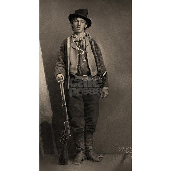 14X10 Billy the Kid BW Print