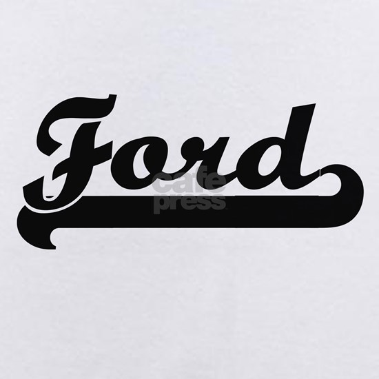 Ford surname classic retro design