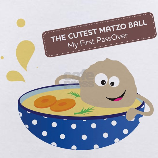 The cutest matzo ball-my first passover