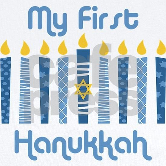 1st Hanukkah Candles
