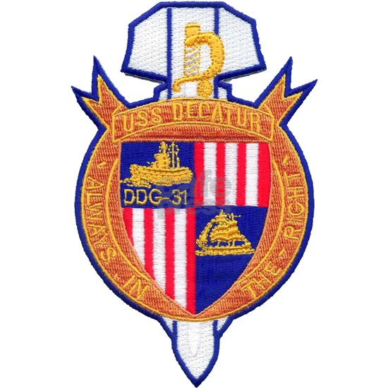 decatur ddg patch