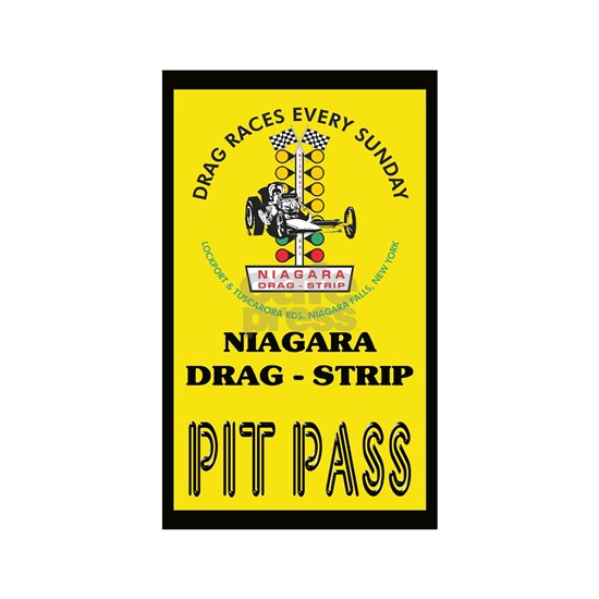 Niagara Drag Strip Pit Pass