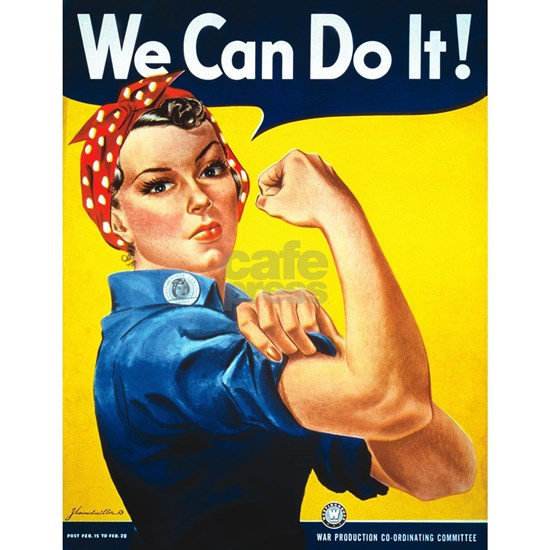 Rosie The Riveter-We Can Do It!