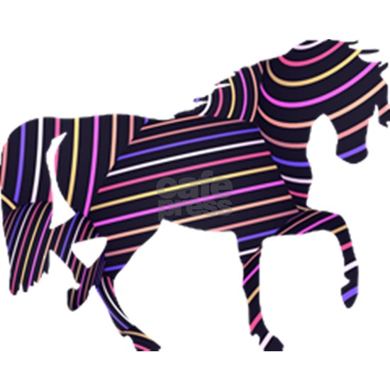 Horse in Stripes