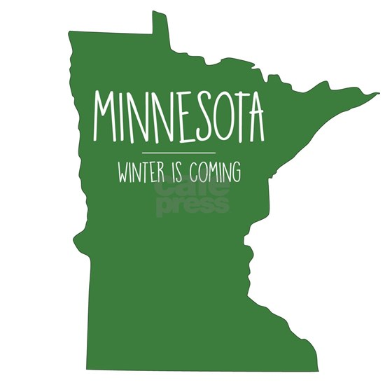 Minnesota - Green - Winter Is Coming