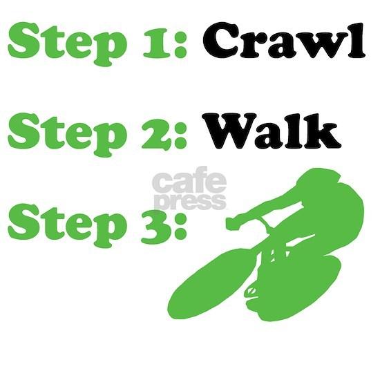 Crawl Walk Cycling