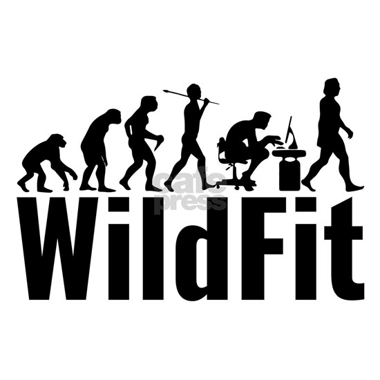 WildFit Logo Black