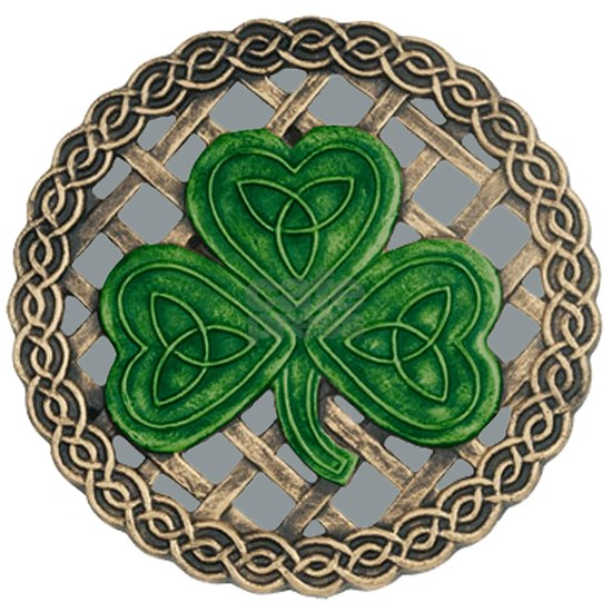 Shamrock And Celtic Knots