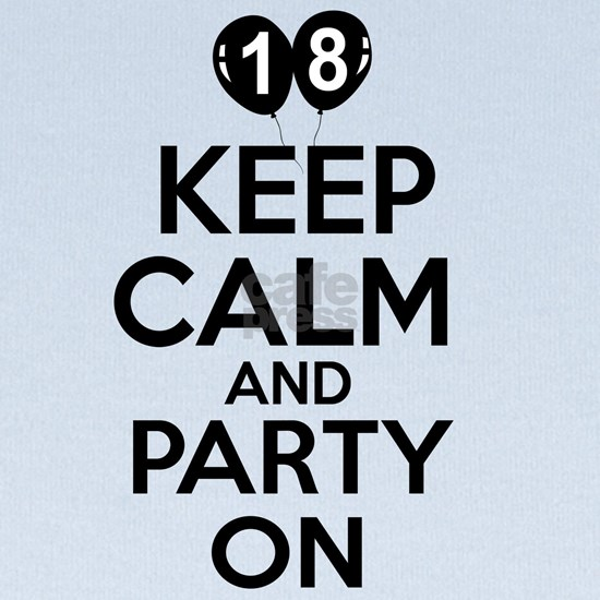 18,Keep Calm And Party On