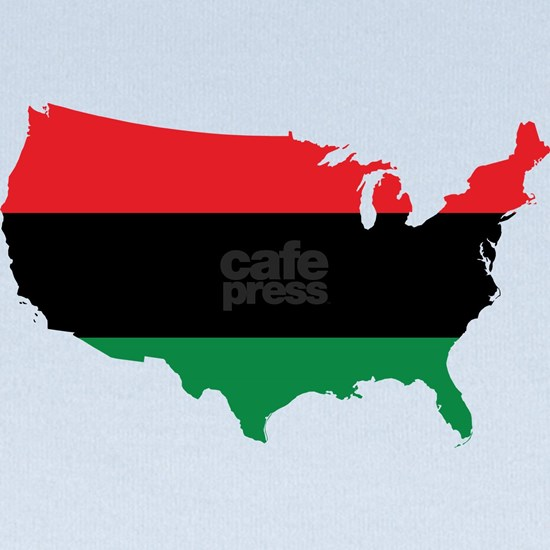 African American _ Red, Black & Green Colors