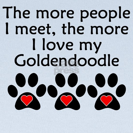 The More I Love My Goldendoodle