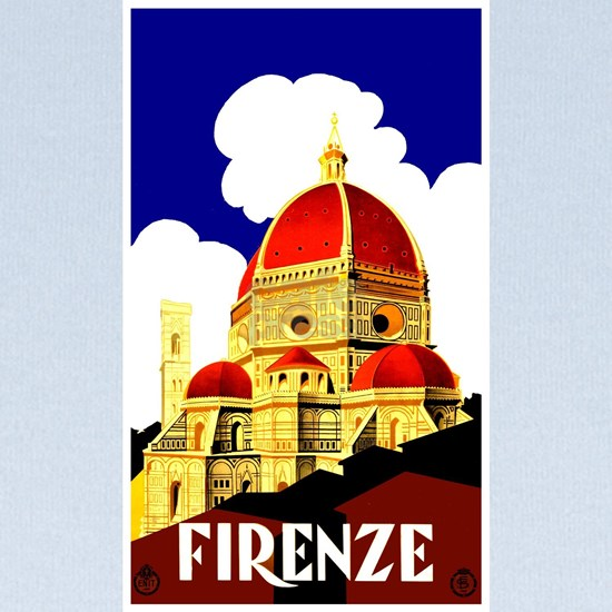 Vintage Florence Italy Travel