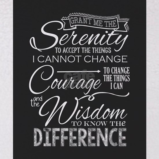 Serenity Prayer (Chalk Text)