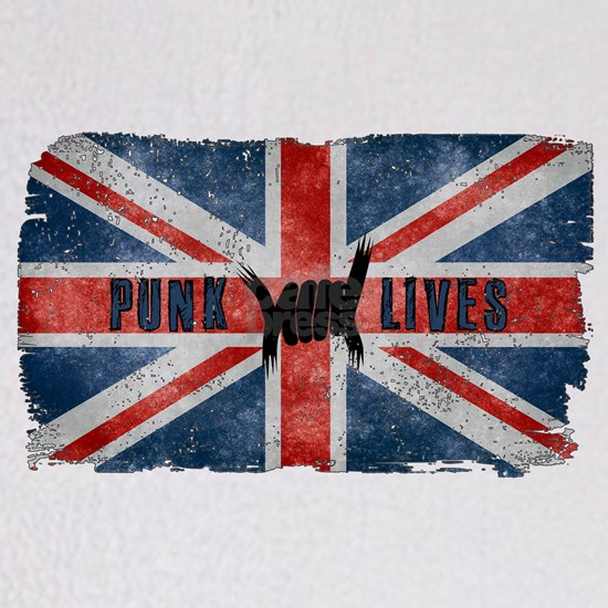 Punk Lives-BRITISH FLAG