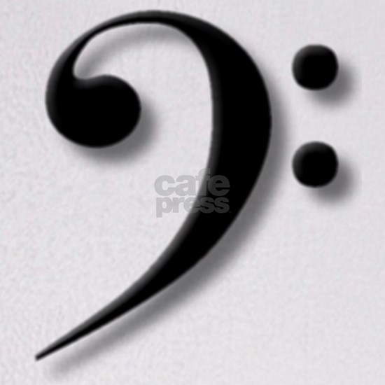 Bass Clef by Leslie Harlow