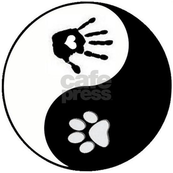 dog human yin yang