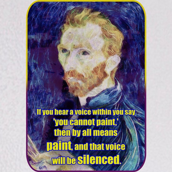 Vincent van Gogh - Art - Quote
