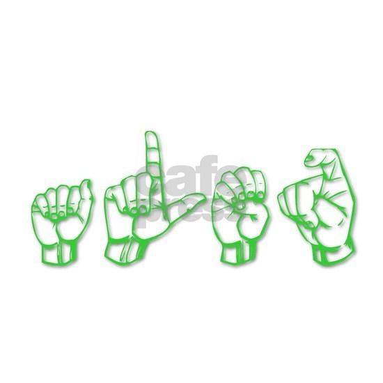 Alex -green in ASL