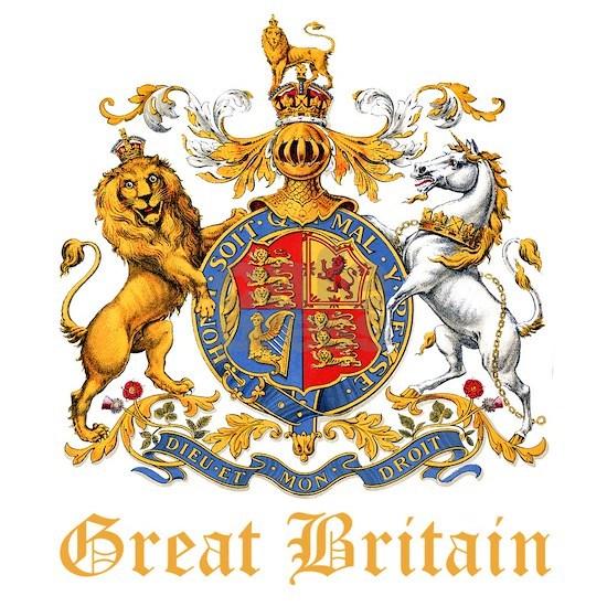 Great Britain Coat of Arms Heraldry_GoldLT