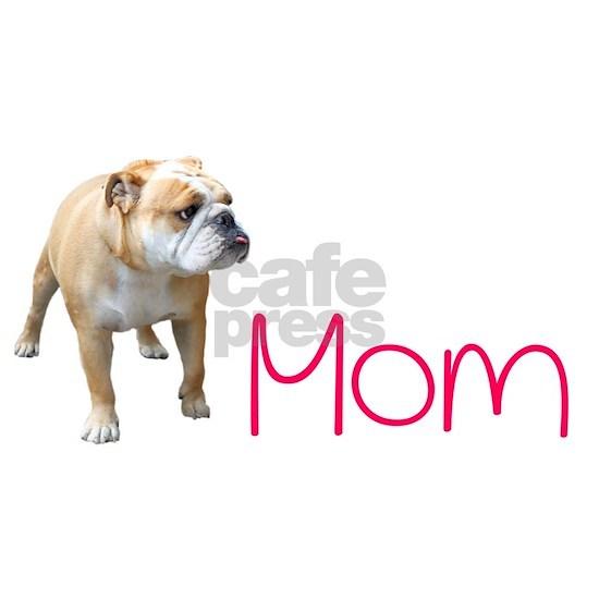 English Bulldog Mom - Pink