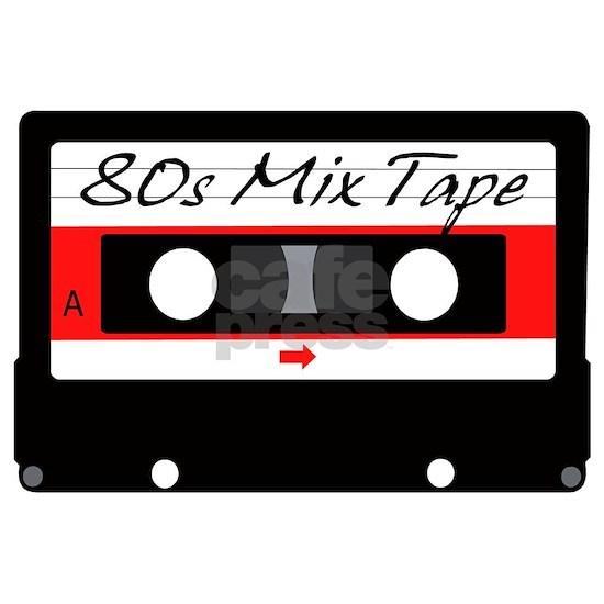 80s Music Mix Tape Cassette