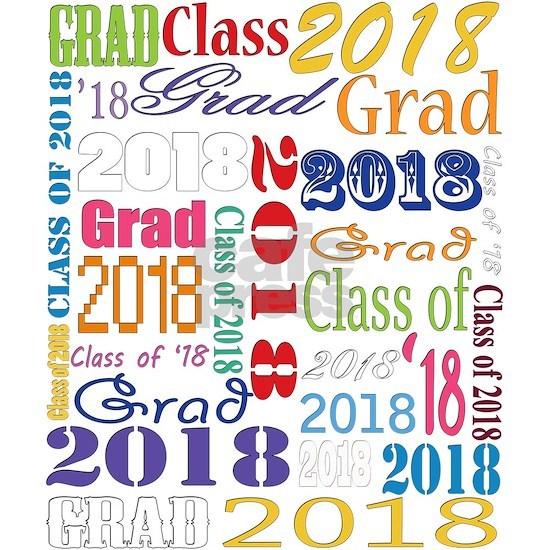 2018 Graduation Typography