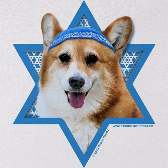 Hanukkah Star of David - Corgi