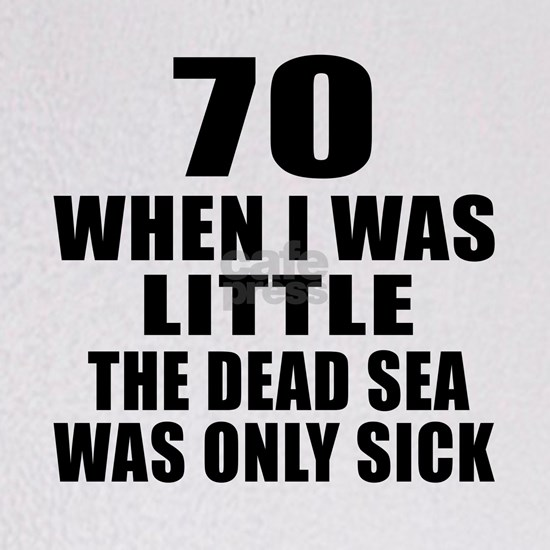 70 When I Was Little Birthday