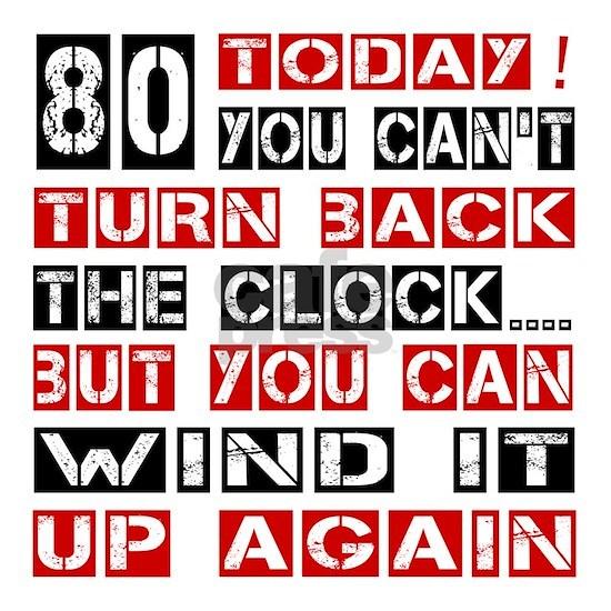 80 Turn Back Birthday Designs