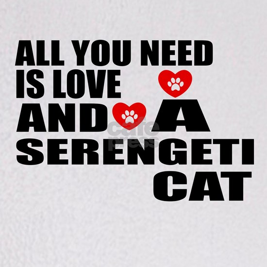 All You Need Is Love Serengeti Cat Designs