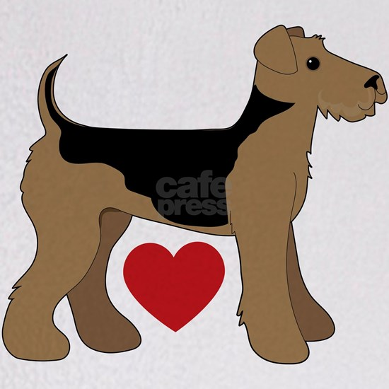 Airedale Terrier Love