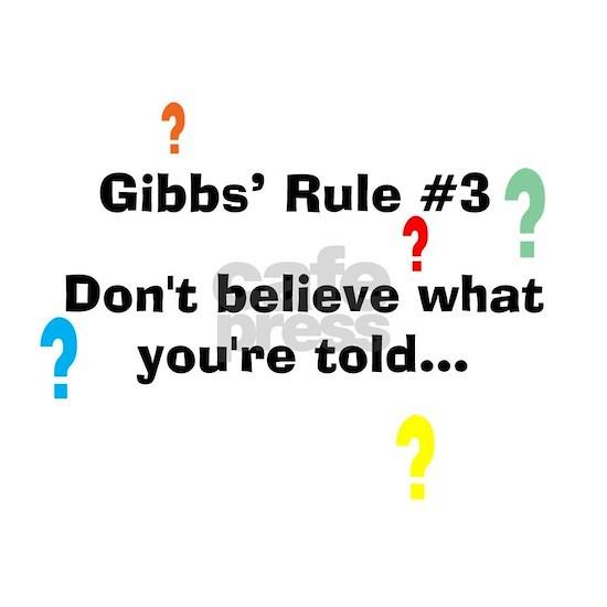 Gibbs Rule #3 center lt copy