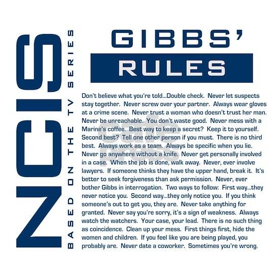 Gibbs Rules Blue