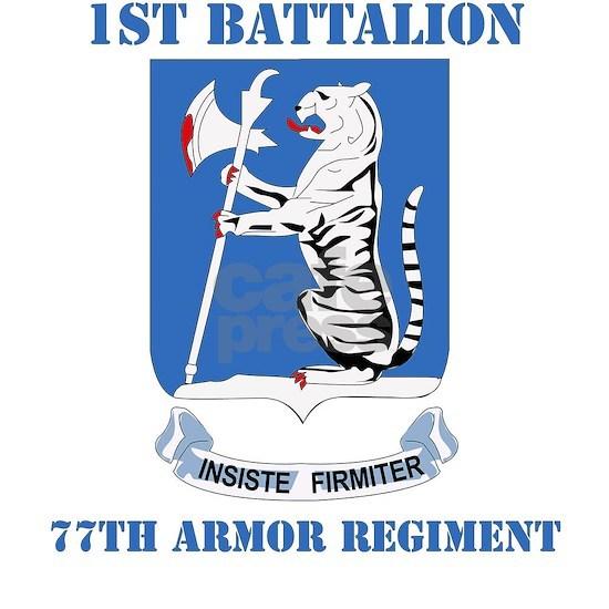 DUI - 77th armor rgt with text
