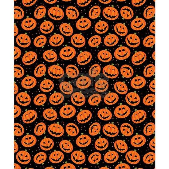 Halloween Pumpkin Flip Flops