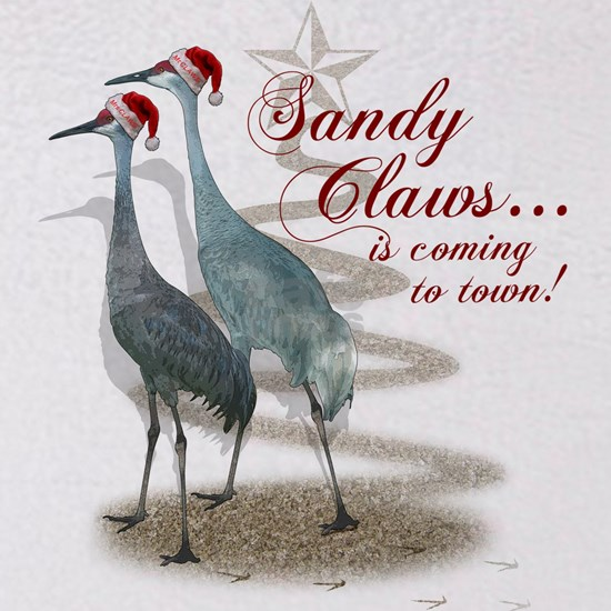 Sandy Claws is coming to town!