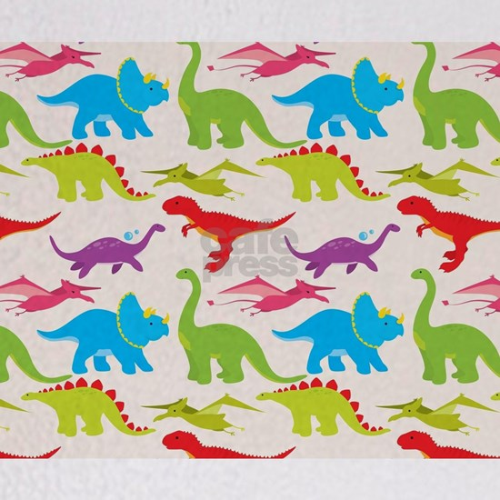 Cool Colorful Kids Dinosaur Pattern