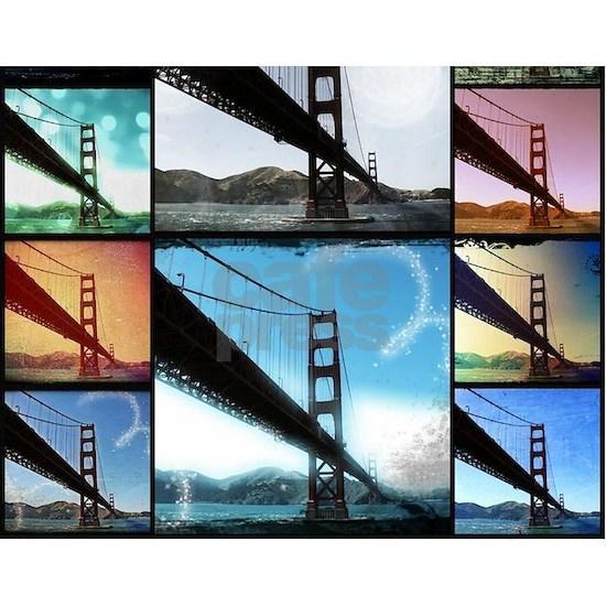 Golden Gate Bridge Photo Collage