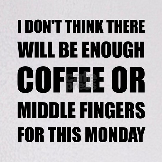 Coffee Middle Finger