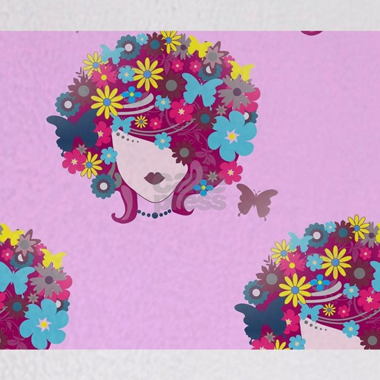 afro floral