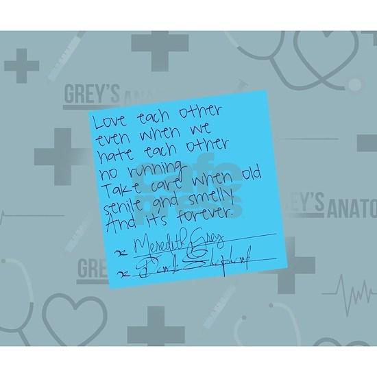 Greys Anatomy Sticky Note