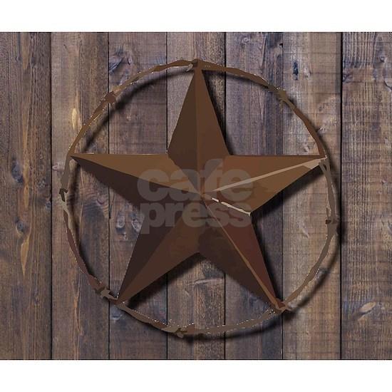 western barnwood texas star